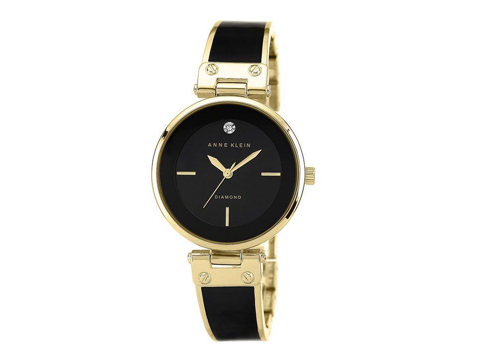 4f6727e3efb5 Anne Klein Black And Gold AK1414BKGB Reloj para Dama Color Negro-Liverpool  es parte de MI vida