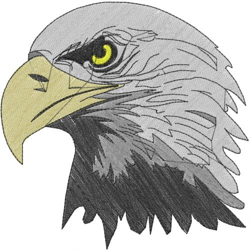 Animals(ATG Freedesigns) Embroidery Design: Eagle Head from Anns ...