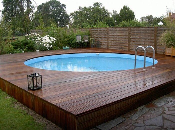 Pourquoi pr f rer la piscine semi enterr e pour votre - Amenagement piscine semi enterree ...
