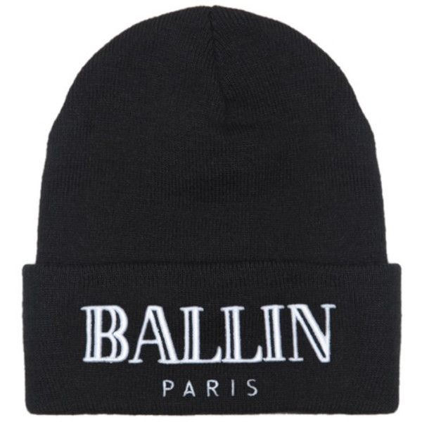 cde801622a3 Brian Lichtenberg Ballin Beanie ( 65) ❤ liked on Polyvore featuring  accessories