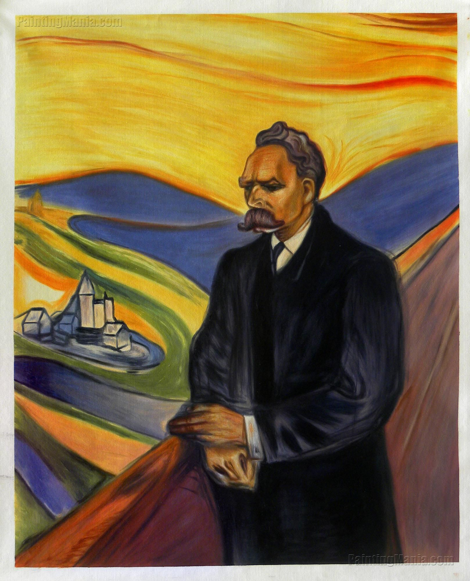 Munch Cuadros Friedrich Nietzsche By Edvard Munch Art In 2018 Pinterest