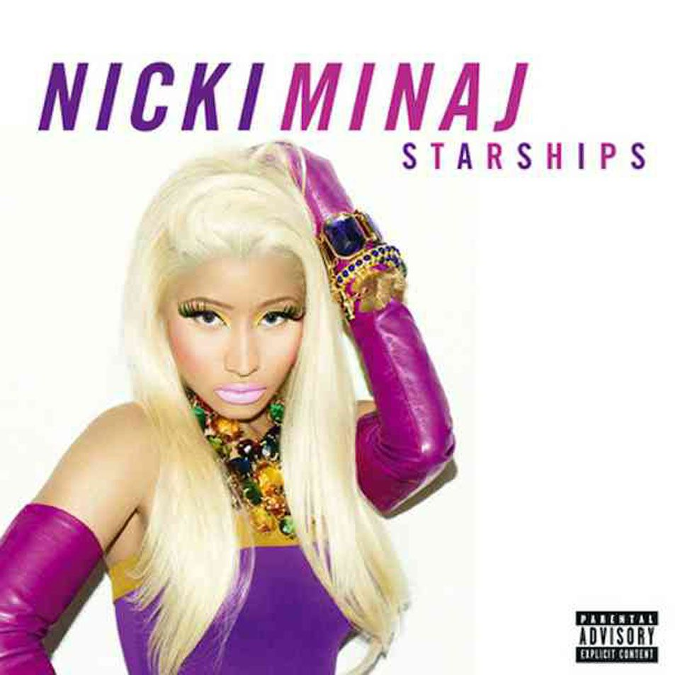 Nicki minaj starships cd single