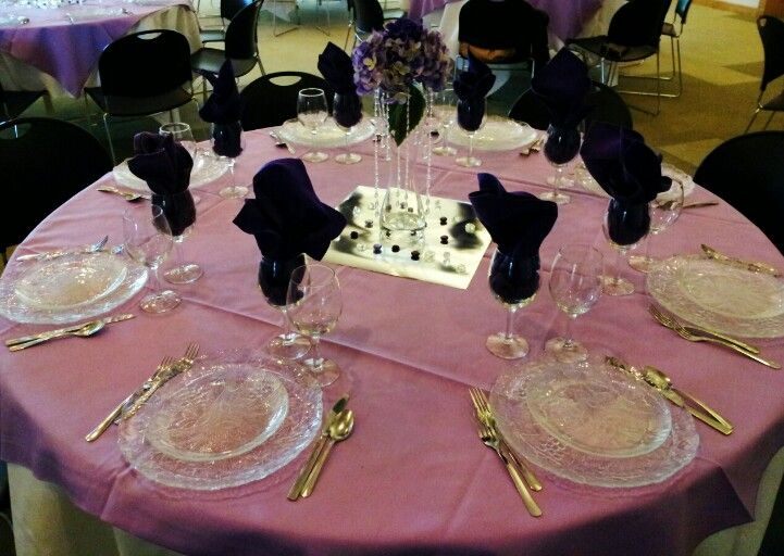 Semi Formal Banquet Decorations On A Budget Wedding Reception Table