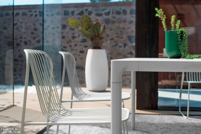 1 Lucidipevere S Riviera Side Chairs In E Coated Steel By Emu