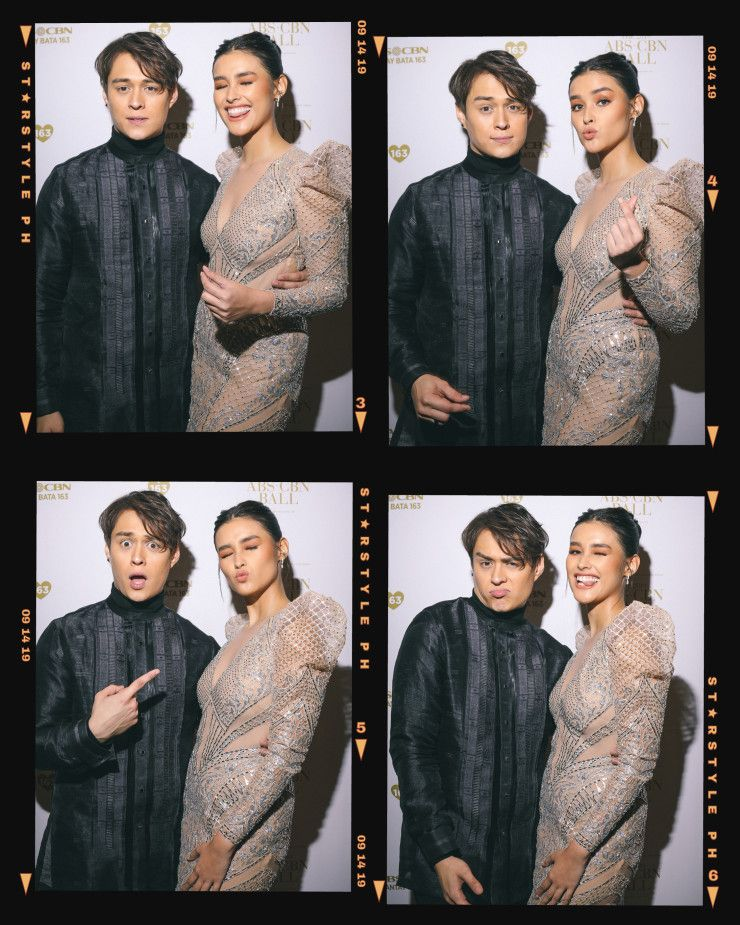 Celebrities get silly in our abscbn ball 2019 photobooth