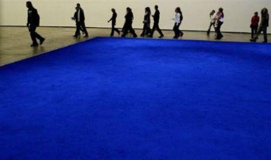Yves Klein Pure Intense Ultramarine Pigment Guggenheim