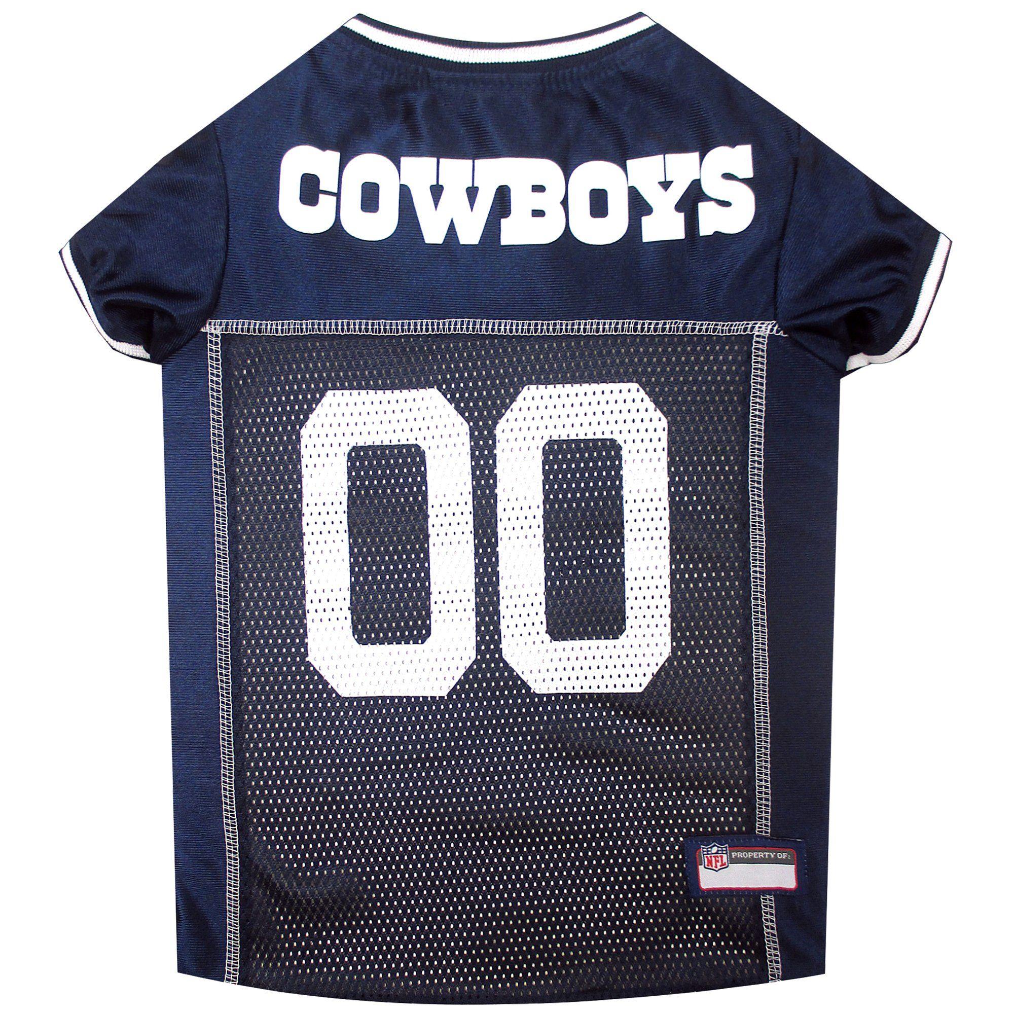 Pets First Dallas Cowboys NFL Mesh Pet Jersey, XSmall