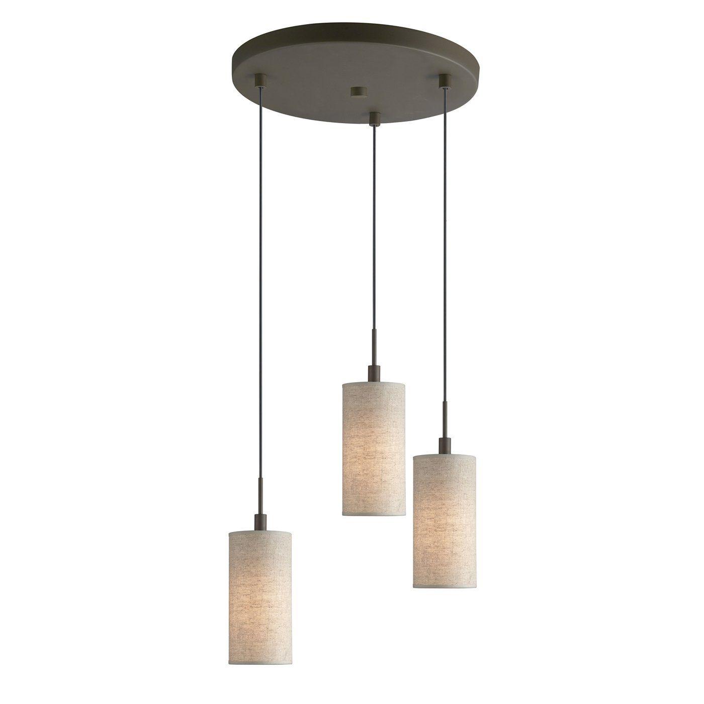 Multi Pendant Lighting Kitchen Cost Of Renovating A Woodbridge 13424 3 Light Fabric