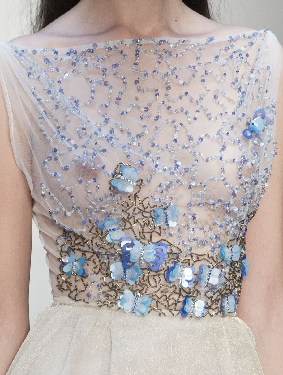 Luisa Beccaria Spring 2014 Details at 柔