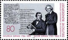 D1985 - The 200th Anniversary of the Birth of the Grimm Brothers