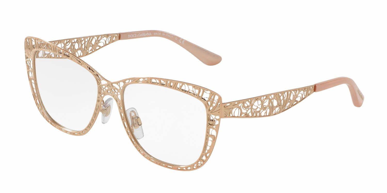 329a2e09aef These Dolce   Gabbana Eyeglasses are  eyewear  goals! Designer Eyeglasses  from Dolce   Gabbana DG1287 Eyeglasses