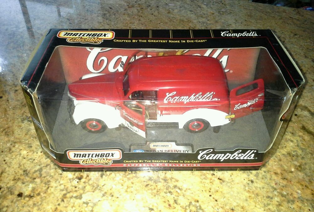1940 Ford Sedan Delivery Diecast Car Campbell's Soup