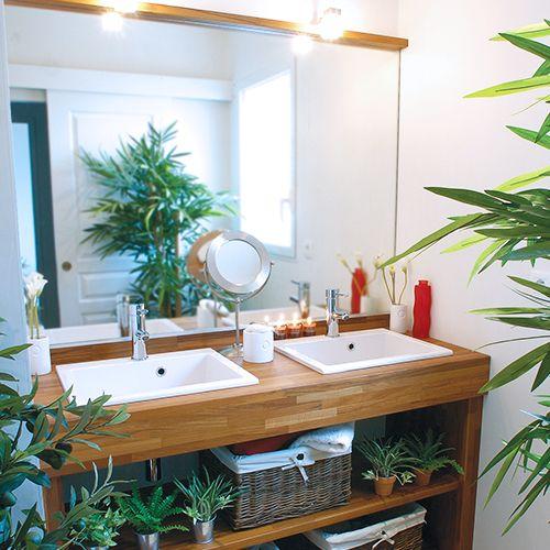 Cotonnier, meuble Zen salle de bain Pinterest