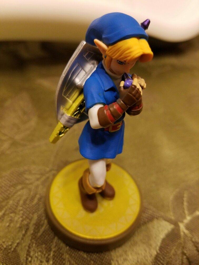 Custom Zelda Ocarina of Time amiibo Zora Tunic Link