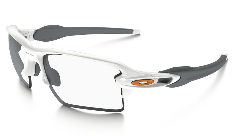 2096972c56b Oakley Flak 2.0 XL Prescription Sunglasses - Polished White   Team Orange