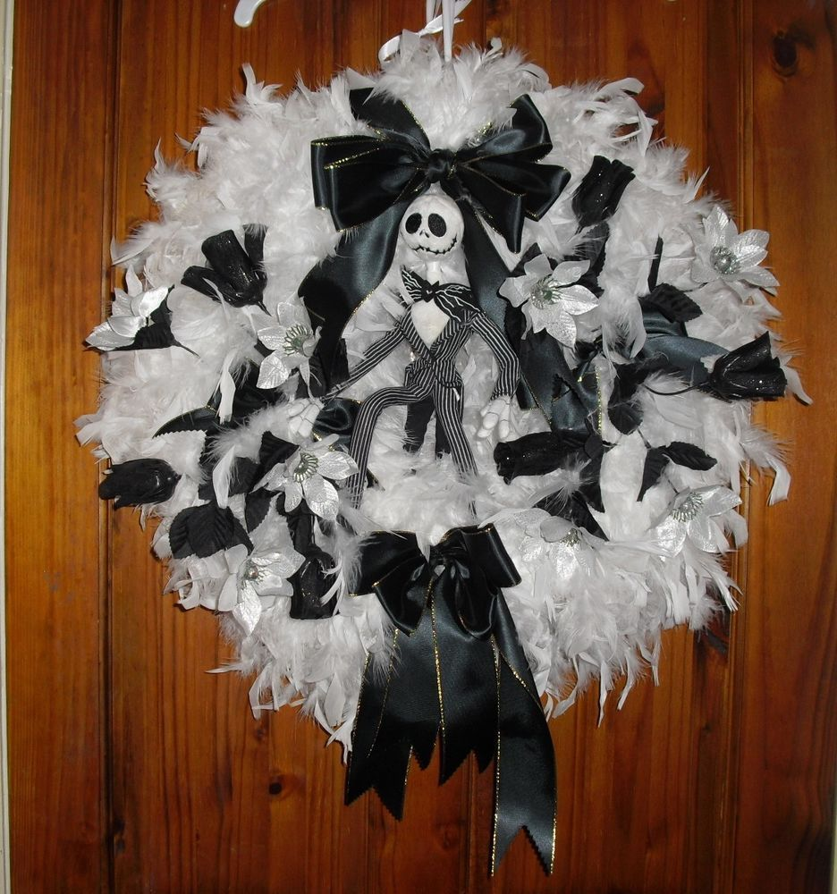 Nightmare Before Christmas Wreath Home Decoration