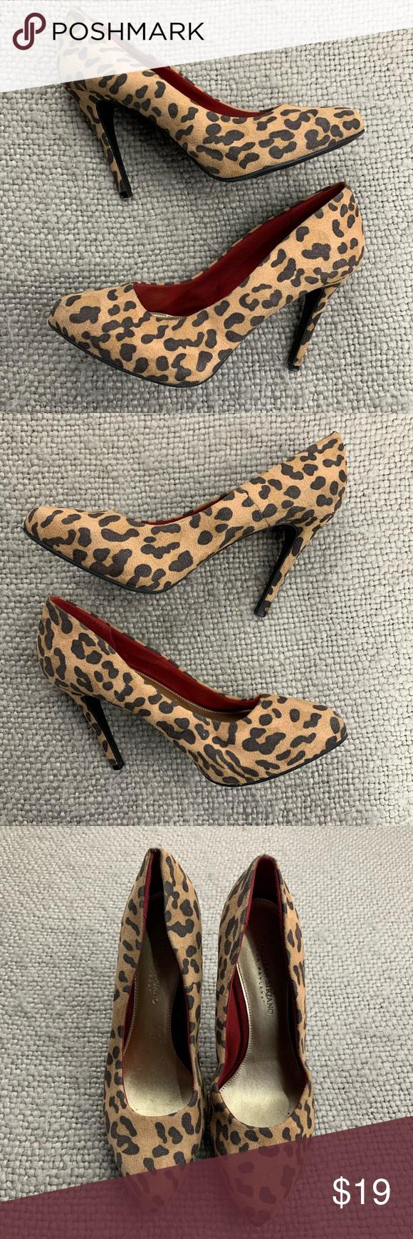 Payless Leopard Heels