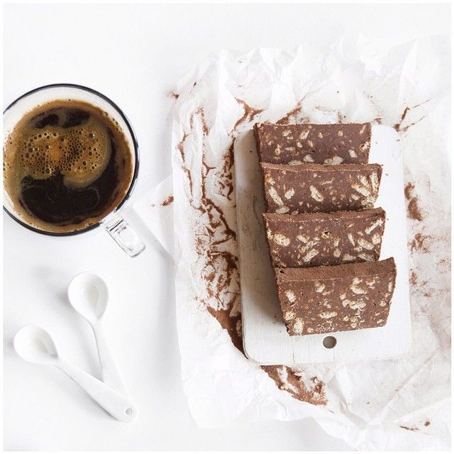 """""""Chocolate slice for breakfast? Why not! Have a nice day everyone ☼"""" Photo taken by @apaltynowicz on Instagram, pinned via the InstaPin iOS App! http://www.instapinapp.com (02/06/2015)"""