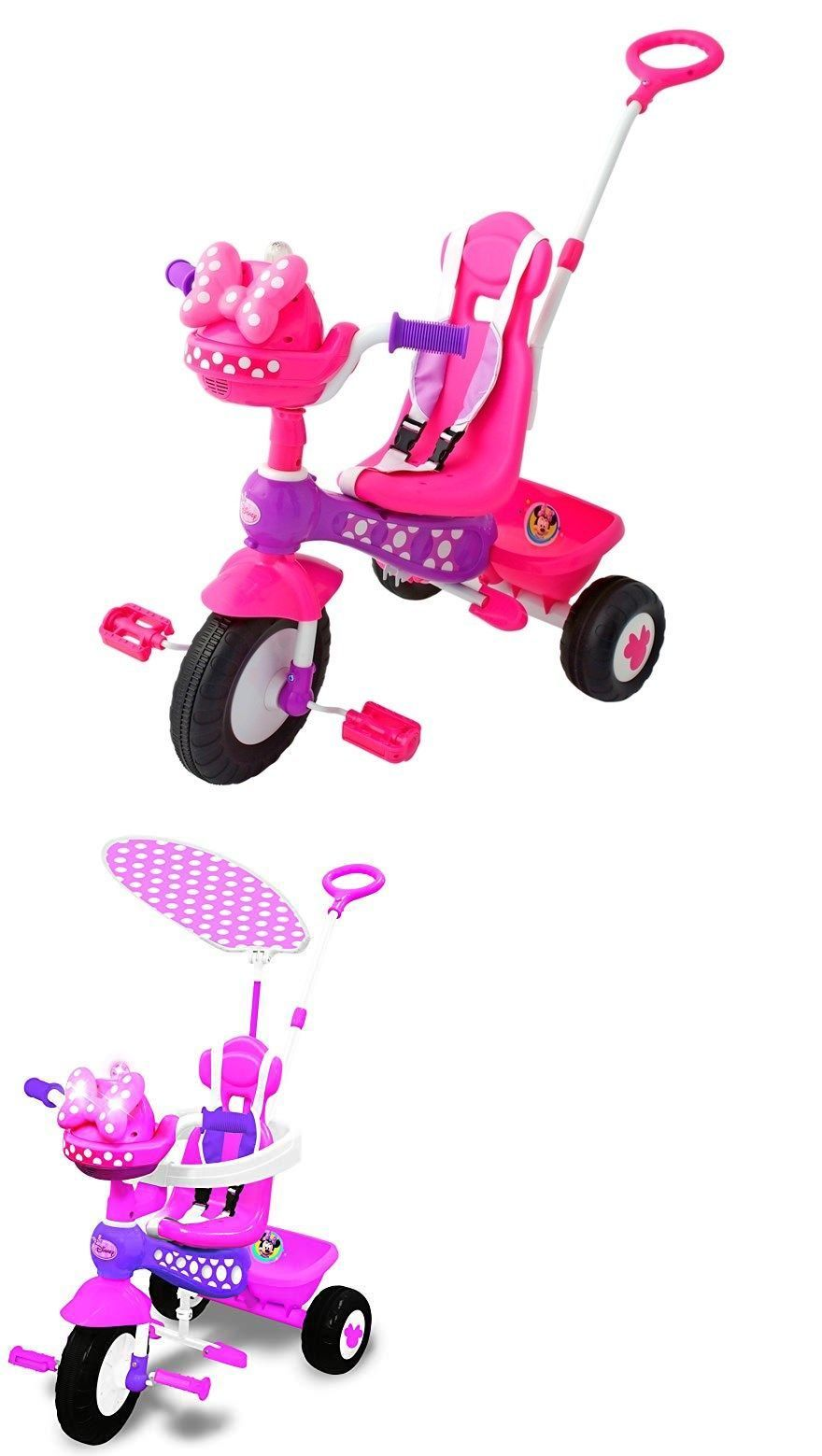 38a5272f73b Ride-Ons and Tricycles 19023: Disney Minnie Mouse Push N Ride Trike -> BUY  IT NOW ONLY: $49 on #eBay #tricycles #disney #minnie #mouse #trike