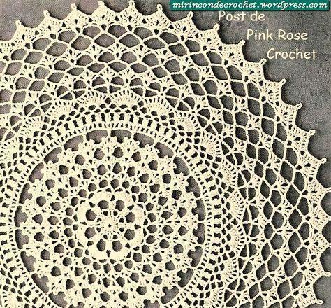Free Crochet Doily Pattern | Crochet | Pinterest
