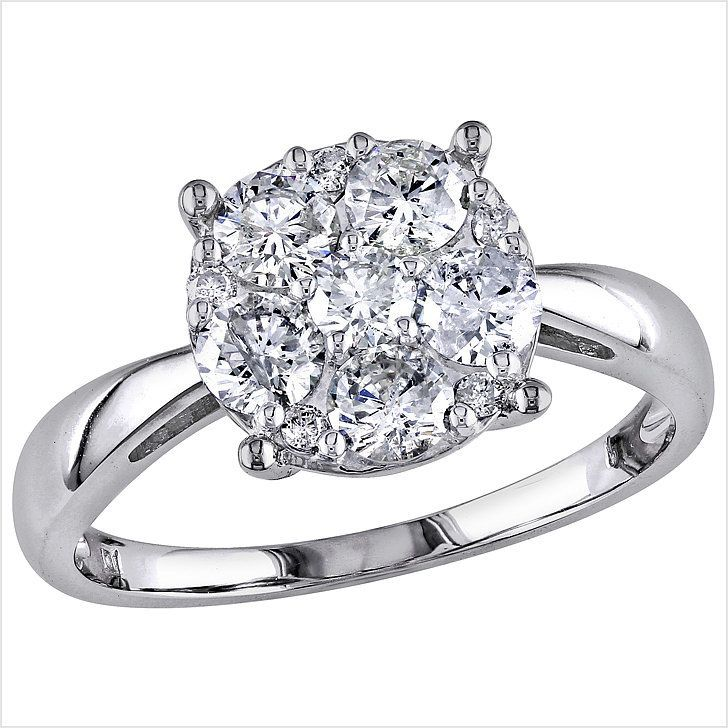 The 19 Most Stunning Engagement Rings That Cost Less Than 3 500 Engagement Rings Affordable Engagement Ring Wedding Band Stunning Engagement Ring