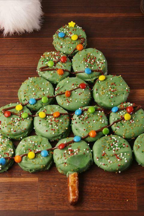 Christmas Desserts Pinterest.Oreo Christmas Tree