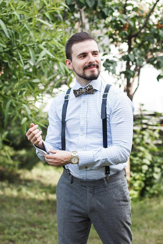 98d08bb8f Mens leather suspenders Leather suspenders Suspenders Mens suspenders Braces  from the skin Suspender