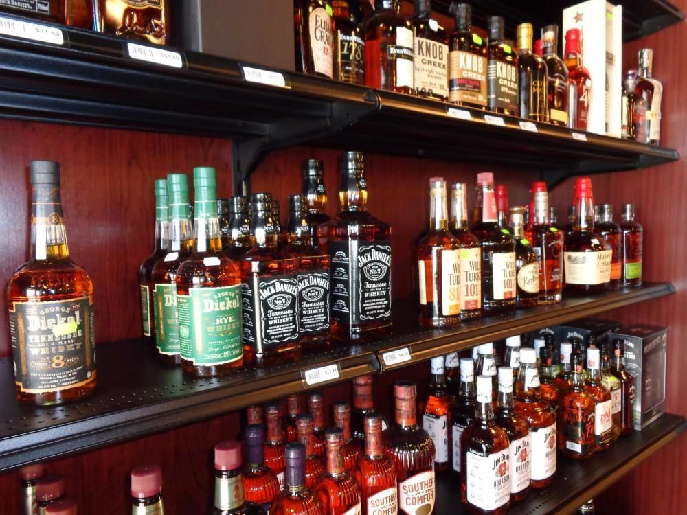 Liquor Store Shelving & Wine Displays   Liquor Store ...