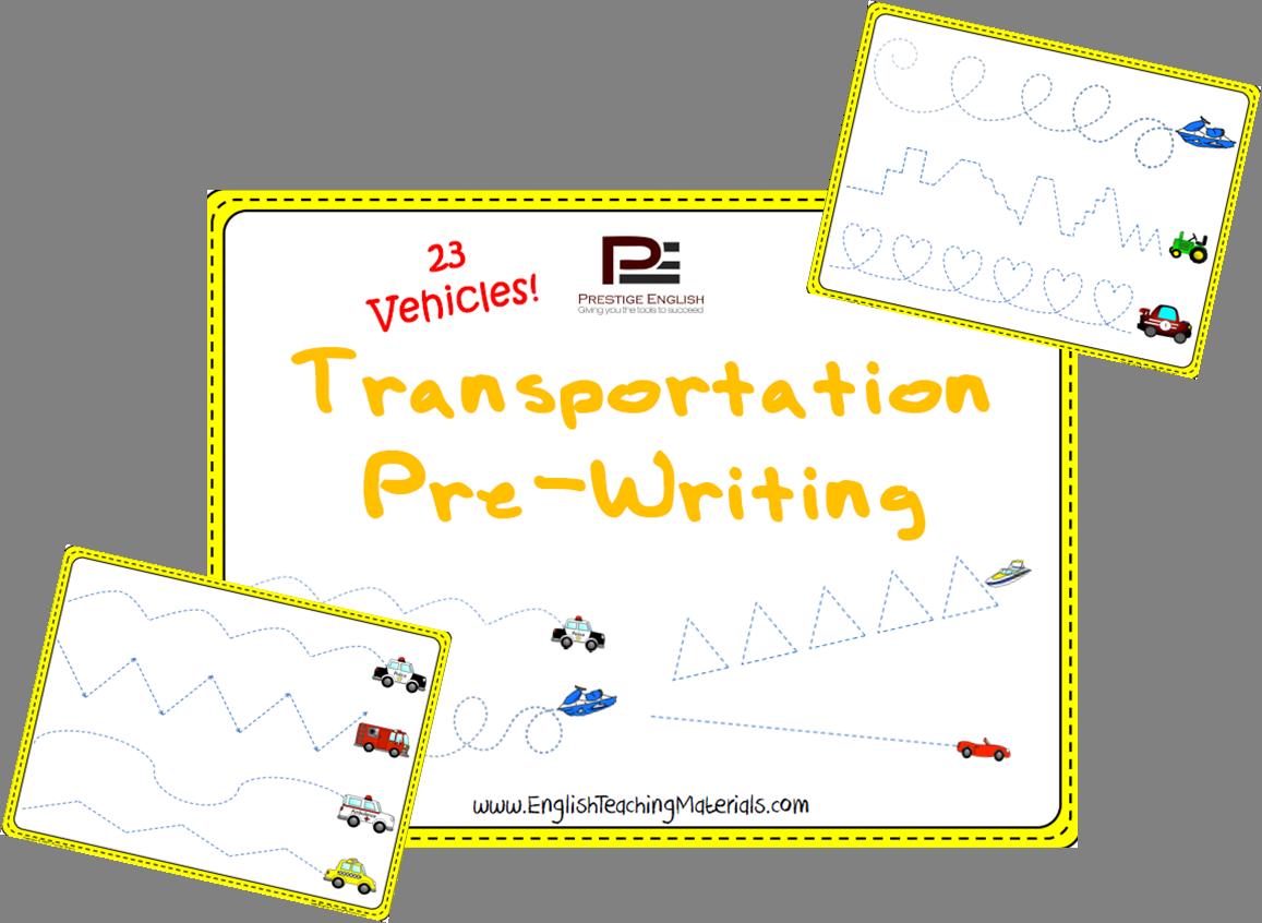 Transportation Pre Writing