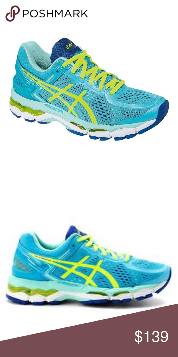 Onza Camino personalizado  NEW ASICS GEL-KAYANO 22 Womens Blue Yellow NEW ASICS GEL-KAYANO 22 Womens Blue  Yellow NEW IN BOX size 7 and 7.5 and 11 MEDIUM wid… | Blue yellow, Asics  shoes, Asics
