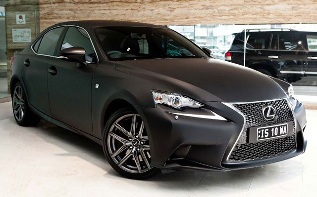 2014 Lexus Is 350 F Sport In Matte Black 4 Or More