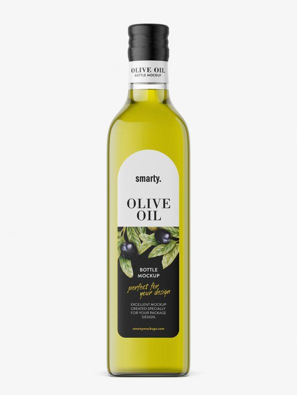 Olive Oil Bottle Mockup Smarty Mockups Cooking Oil Bottle Olive Oil Bottles Olive Oil Packaging
