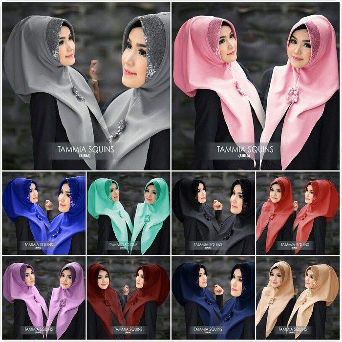 Tutorial Hijab Pashmina Ukuran Pendek Siria Kerudung Gaya Abaya