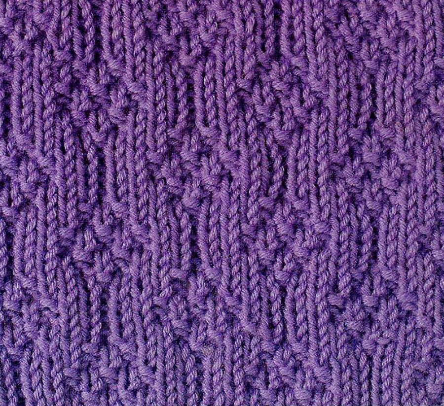 18 Knitted Pattern Stitches Pinterest