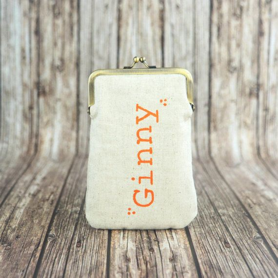 Phone Case Phone Sleeve Personalized Phone Pouch by BagsCloset #iphonepouch