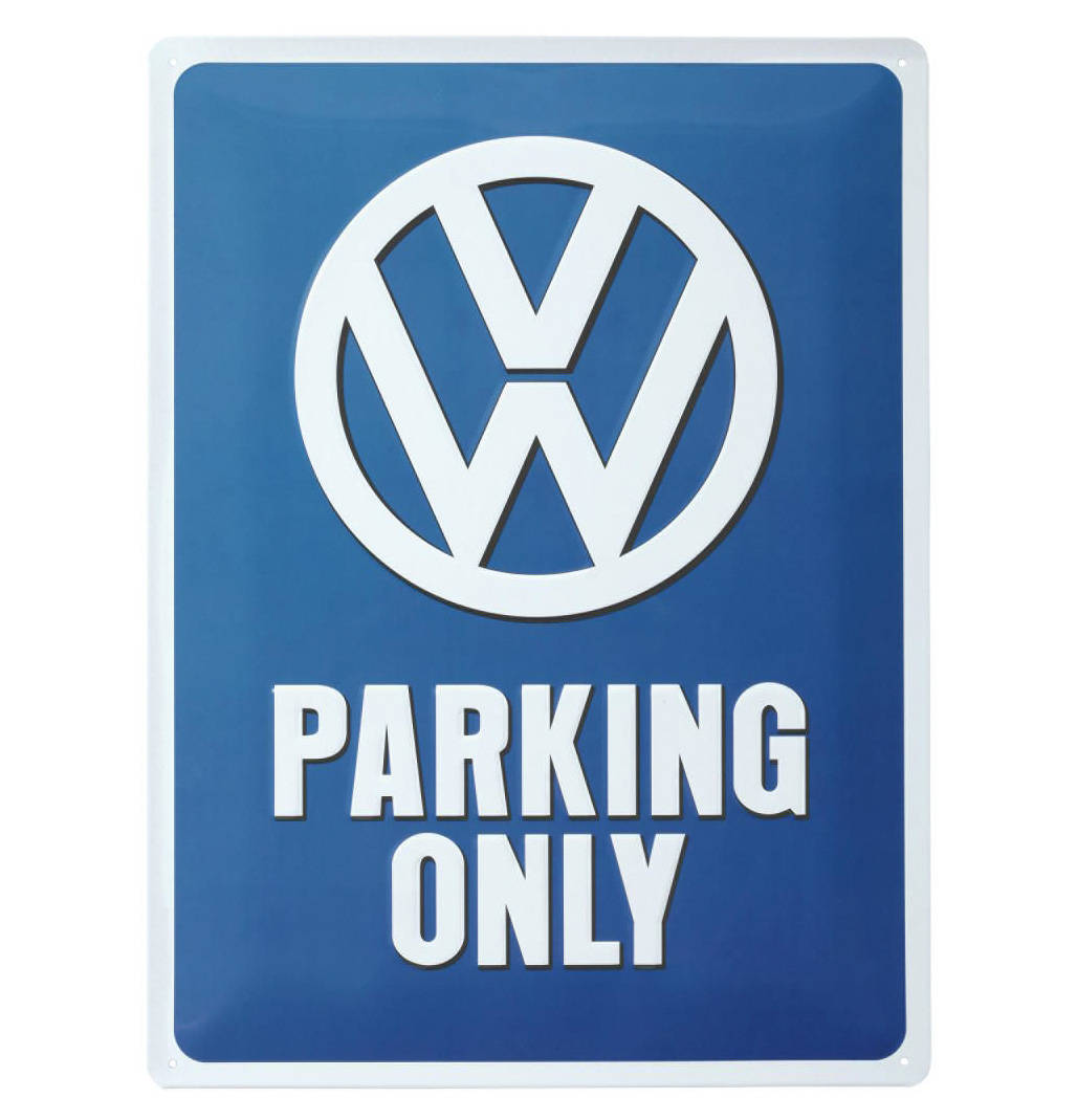 Blechschild 30 X 20 cm Iveco Parking Only