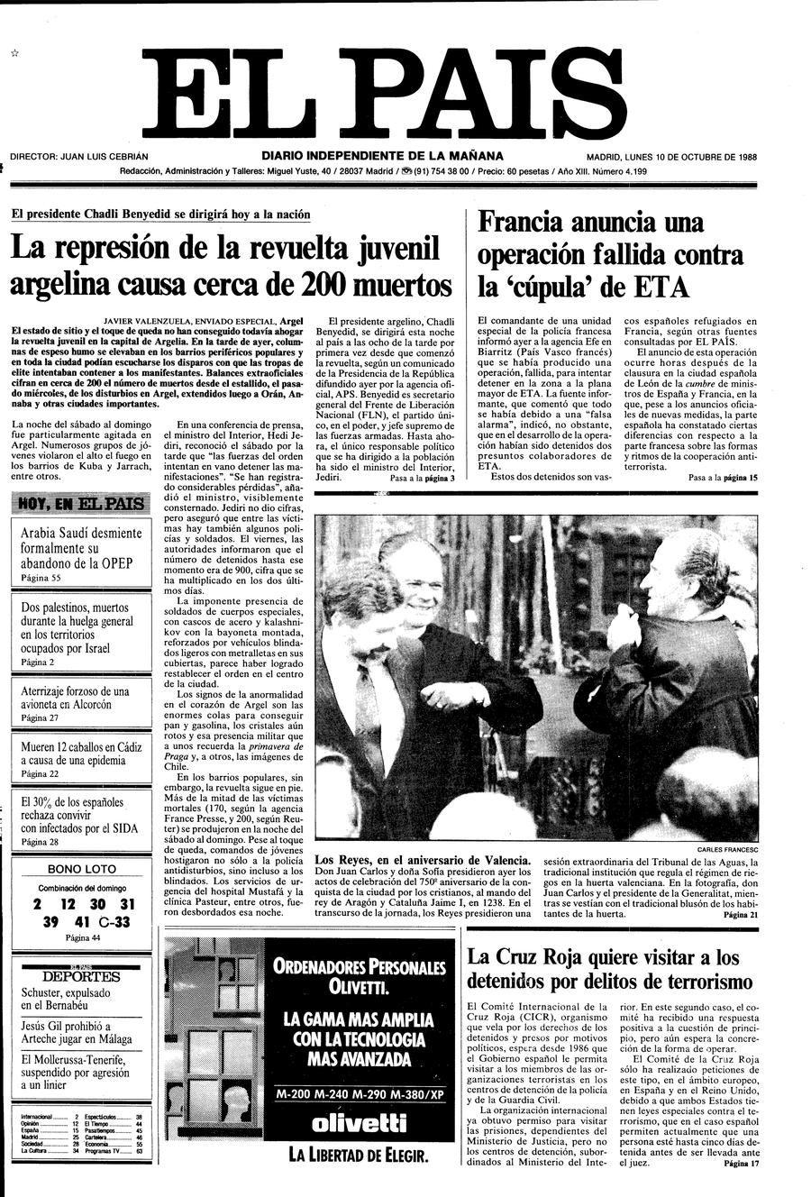 10 de Octubre de 1988