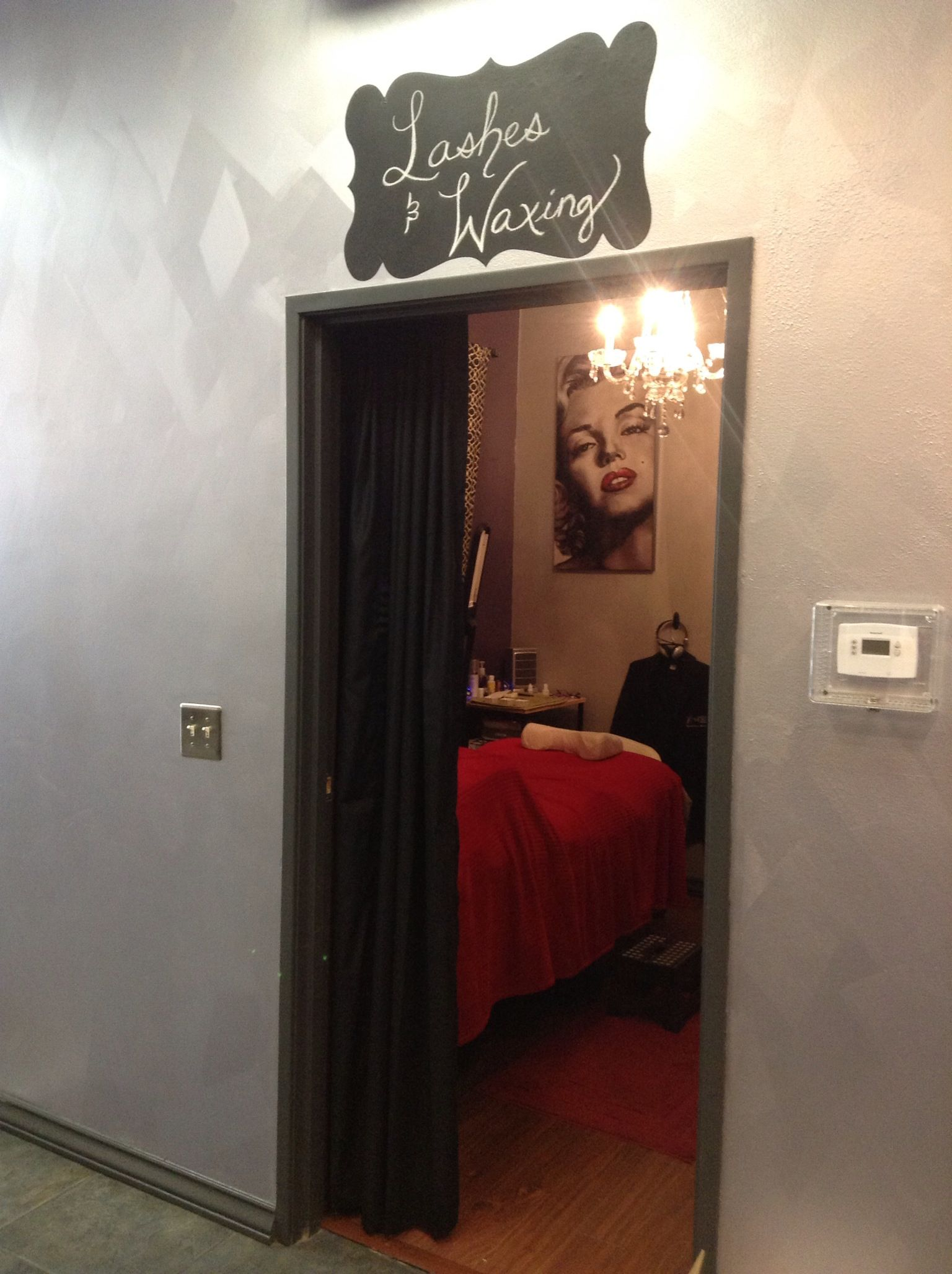 Check Out My Room Where All The Lash Extensions Are Born Eyelash Extensions By Me Facial