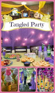 Life with Moore Babies: Nadia's Tangled Party