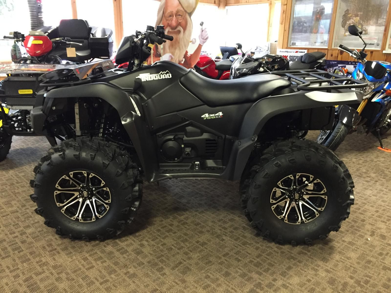 2016 suzuki kingquad 750 4x4 axi special edition autos. Black Bedroom Furniture Sets. Home Design Ideas