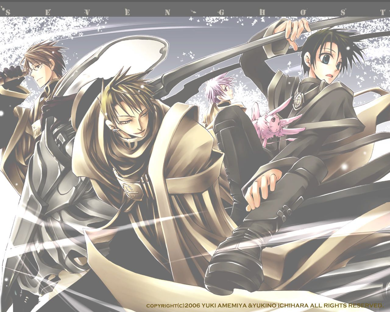 Tags Wallpaper 07 Ghost Teito Klein Labrador Castor 07 Ghost