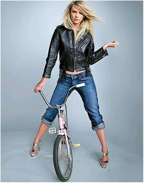 Un peu petit le vélo...