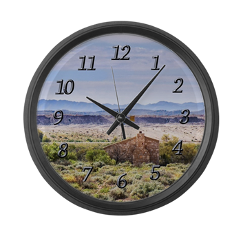 Outback South Australia Clock With Large Numbers L Large Wall Clock Australia Clock Wall Clock