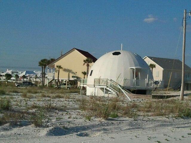 Dome Home Navarre Beach Fl Dome Home Navarre Beach Outdoor