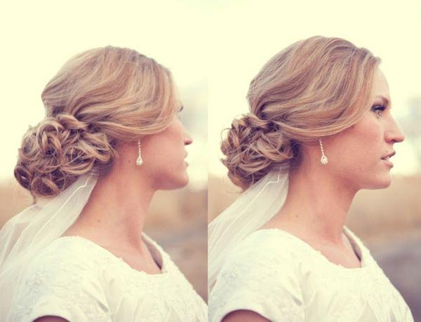 hochzeitsfrisur für lange haare- 60 elegante haarstyles