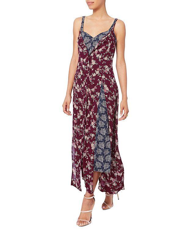 Cinq à Sept Nathalie Double Layer Silk Dress