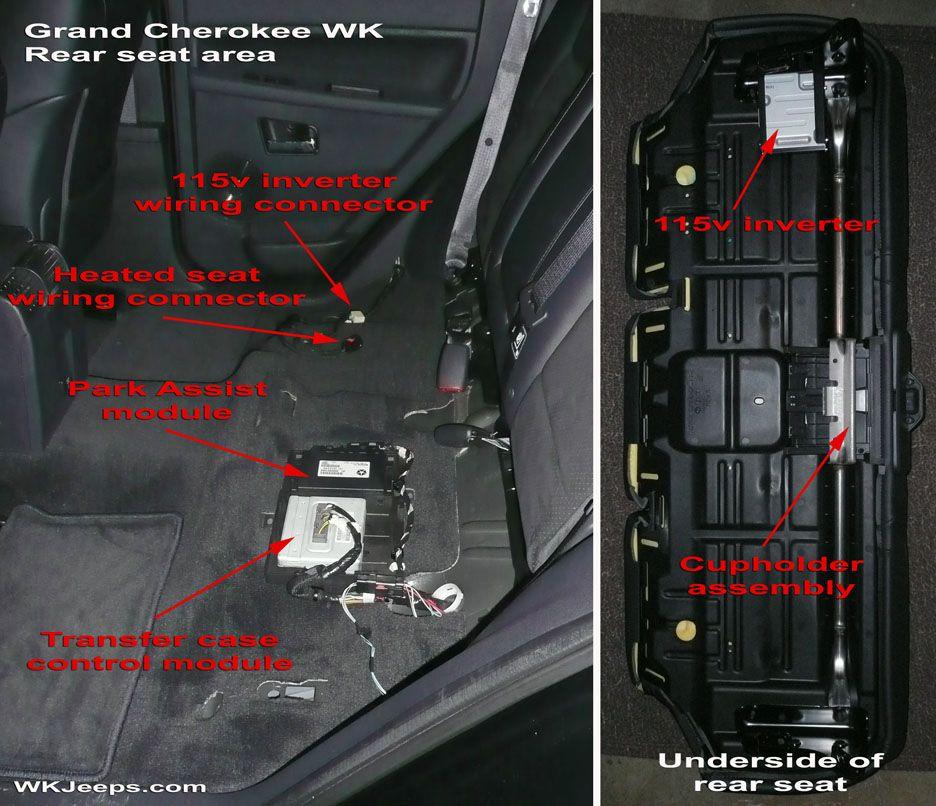 Rear Seat Cushion Srt Jeep Jeep Grand Jeep Wk