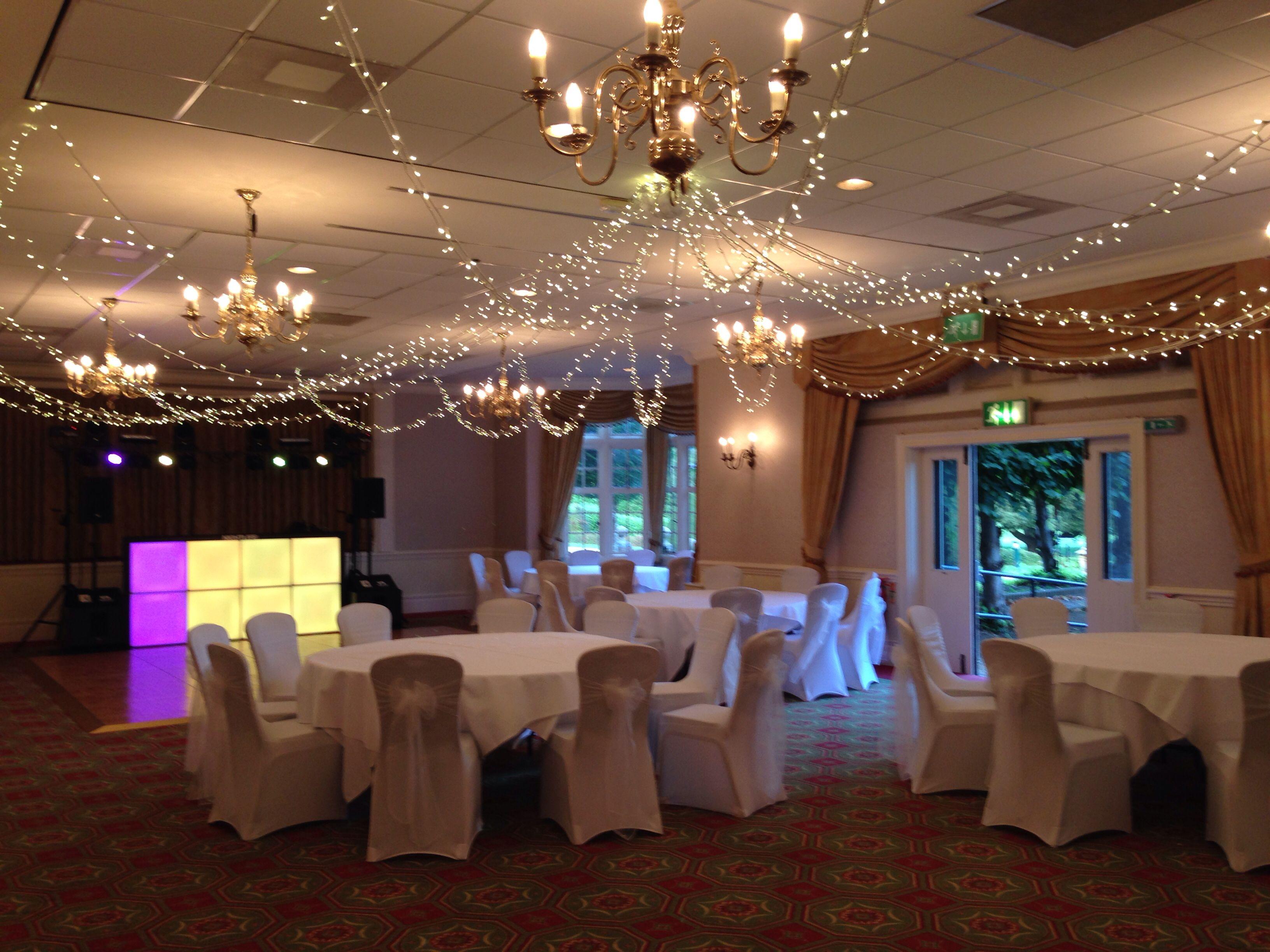 Great Decoration Wedding Breakfast Reception Set Up