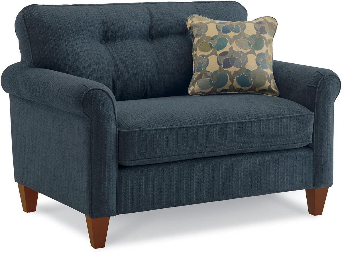 Oversized Chair with Ottoman Chair and a half, Chair and