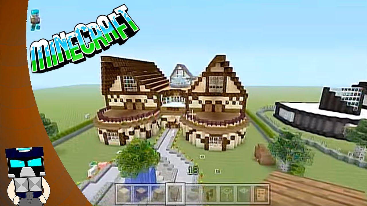 Como hacer una casa moderna de cuarzo pt1 youtube como for Como hacer una casa moderna y grande en minecraft 1 5 2